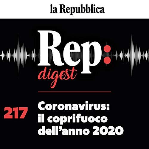Coronavirus. Il coprifuoco dell'anno 2020 copertina