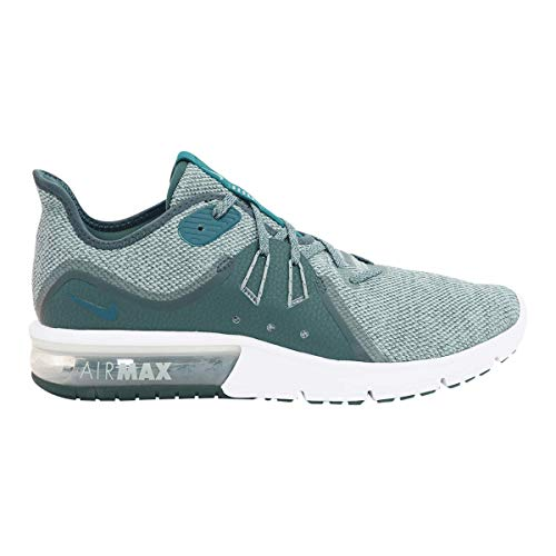 Nike Men's Air Max Sequent 3 Running Shoe Mica Green/Geode Teal/Faded Spruce Size 10 D US