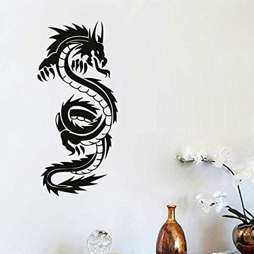 Dragon Wall Painting Decoración Del Hogar Arte De Vinilo Etiqueta De La Pared Extraíble Dr