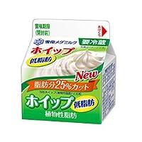 メグミルク ホイップ低脂肪200ml 12個