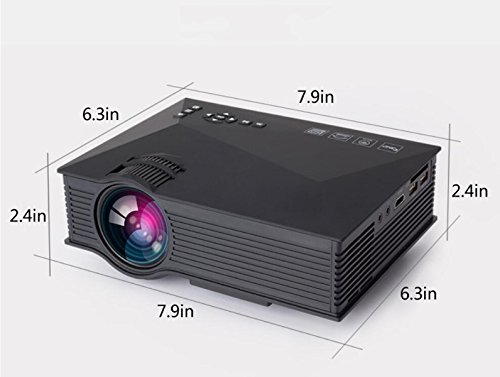 Proiettore LED Portatile Mini Mini WIFI Phone Projector