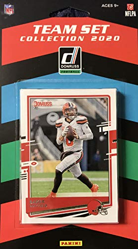 2020 Panini Football Cleveland Browns 10 Card Team Set with Rookies