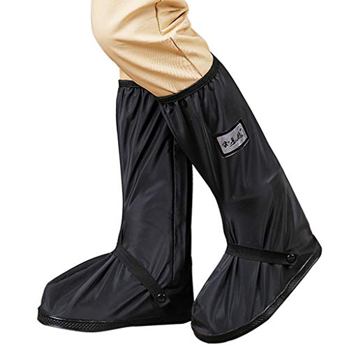 Impermeable Cubierta del Zapato - Adulto Reutilizable Botas de Lluvia Hombre Mujer...