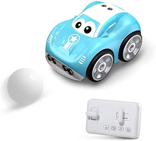 DEERC RC Auto DE33 ferngesteuertes RC Car mit 2.4GHz Fernbedienung,Verfolgungsmodus,Selbst angelegte Pfade,4 Spielmodi Mini Auto Spielzeugauto klein Spielzeug Modell Fahrzeug für Kinder Jungen Mädchen