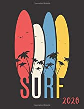 Amazon.com: Surf: Weekly Planner/Monthly Calendar with Cool ...
