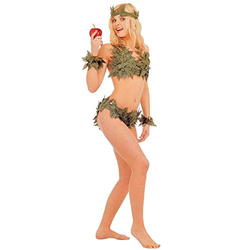 NET TOYS Disfraz de Eva para Mujer - Disfraz de Carnaval Sexy Edén