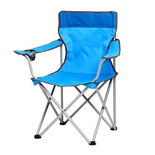 ZJING Grey Camping portátil Mesa Plegable y sillas Azul Ocio Silla Playa...