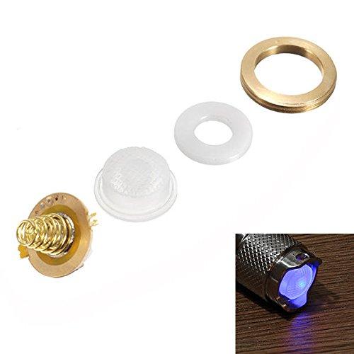 Bazaar 2LED 17mm DIY Beleuchtung Schalter Satz für Astrolux SS/SC / S2/S3 / BLF X5 X6 LED Taschenlampe