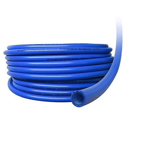 """Quarzflex® Trinkwasserschlauch 13 mm (1/2\""""), 10 m Rolle KTW/DVGW\""""SUPER FLEXIBEL\"""""""