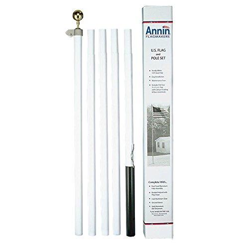 Annin Flagmakers 18' STL Pole Kit/Flag
