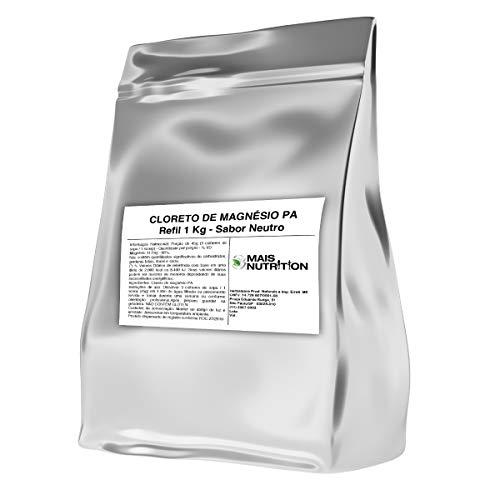 Cloreto de Magnesio PA 1Kg 1 Kilo Quilo Puro Mais Nutrition