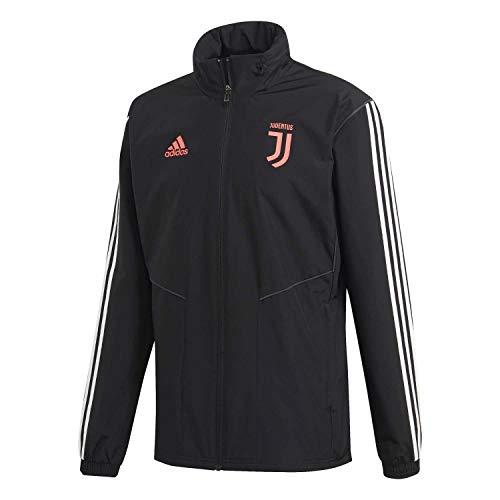 adidas Unisex-Erwachsene Juve Aw JKT Jacket, Schwarz/Grau, M
