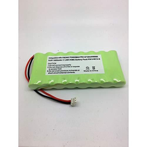 Batería para Panel de control de alarma Visonic PowerMax Pro 9,6V 1800mAh P/N 0–9912-G
