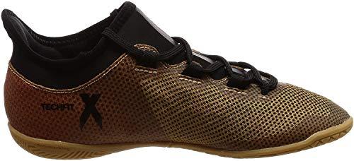 Adidas X Tango 17.3 In J, Zapatillas de fútbol Sala Unisex niño, Amarillo (Ormetr/Negbas/Rojsol 000), 32 EU