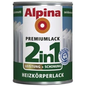 Alpina 2in1 Heizkorperlack Weiss Glanzend Wasserverdunnbar 250 Ml Amazon De Baumarkt