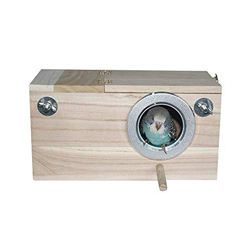 Renoble Vogelnester Box Sittich Nest Box Vogelkäfig Vogelhaus Wellensittich Holz Paarungszucht Box Für Lovebirds Nymphensittich Papagei Paarung Voliere Box Conure Papageien Lieferungen