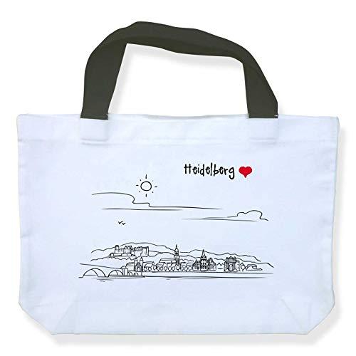 die stadtmeister Einkaufstasche Polyester Skyline Heidelberg