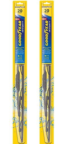 Goodyear Integrity Windshield Wiper Blades, 20 Inch & 20 Inch