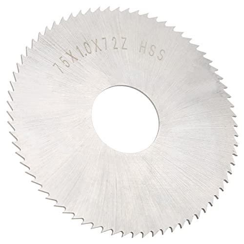 Caiqinlen Lama per Sega Circolare in Metallo, Disco da Taglio Accessori industriali Acciaio ad Alta velocità ad Alta precisione per la Lavorazione dei Materiali