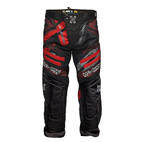 HK Army Hardline Paintball Pants - 2018/2019 Styles (Fire, Large)