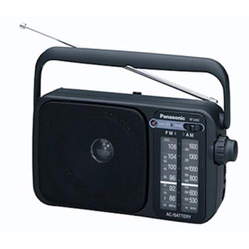 Panasonic 2400DEB K Portable Radio AMFM with AC or DC