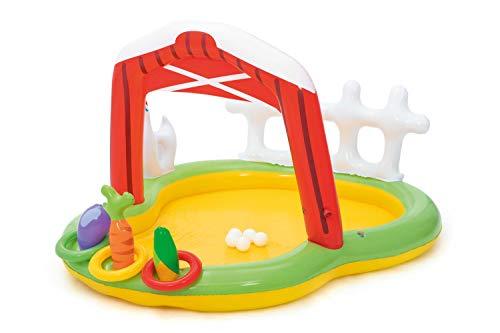 Bestway 53065 - Piscina Hinchable Infantil Granja 175x147x102 cm