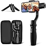 3-Axis Gimbal Stabilizer for iPhone 12 11 PRO MAX X XR XS Smartphone Vlog Youtuber...