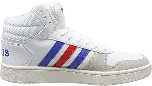 adidas Hoops 2.0 Mid, Zapatos de Baloncesto para Hombre