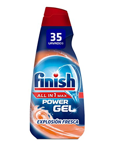 Finish 1 Lavavajillas Gel Fresh Burst - 35 Dosis