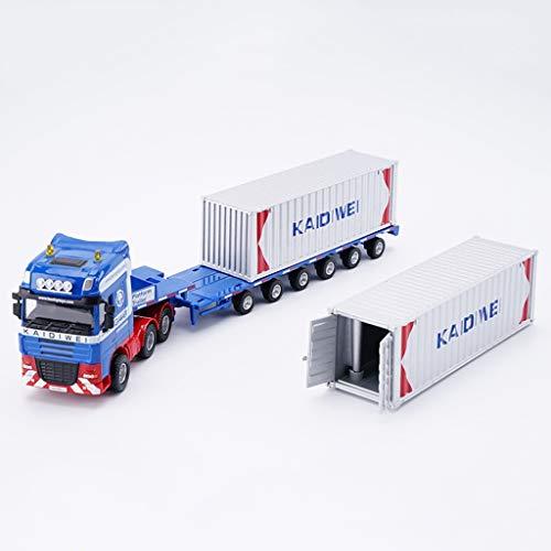 SXZHSM automodel automodel 1:50 zware vrachtwagen simulatie legering drukgietwerk speelgoed sieraden engineering auto collectie sieraden 37x5x6.5cm