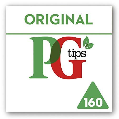 PG Tips Bolsas de té Original Pirámide (Paquete de 160)