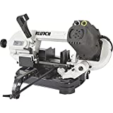 Klutch Benchtop Metal Cutting Band Saw - 5in. x 4 7/8in, 400 Watts, 110–120V
