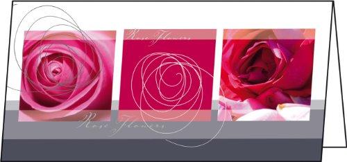 SIGEL DS176 Grußkarten Melrose, DIN lang, 25er Set - weitere Designs