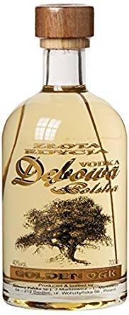 3 Flaschen Debowa Golden Oak a 700ml 40% Vol. polnischer Wodka