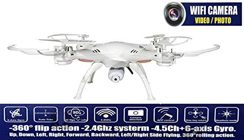 Jack Royal FPV - Vision, Real Time Camera Drone with App (Multi-Color)