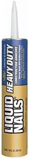 LIQUID NAILS LN-903 Heavy Duty Construction Adhesive (10-Ounce)