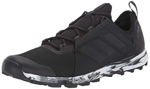 adidas outdoor Women's Terrex Speed Trail Running Shoe, Black/Black/Black, 9 D US