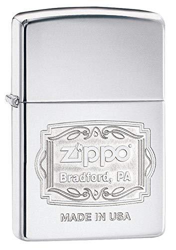 Zippo Feuerzeug 60002311 PL Angel Wings Benzinfeuerzeug, Messing, Transparent, 6 x 6 x 8 cm