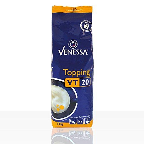Venessa VT 20 Topping 10 x 1kg für Kaffee-Vollautomaten, enthält 20% Milchpulver