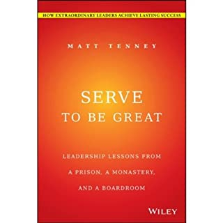 Serve to Be Great audiobook cover art