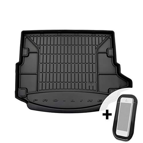 moto-MOLTICO Gummi Kofferraummatte Kofferraumwanne mit Organizer-Funktion passend für Land Rover Discovery Sport ab 2014