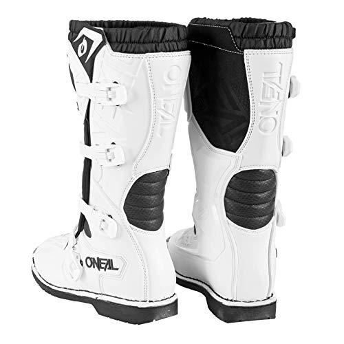 O'Neal Rider Boot MX Stiefel Weiß Moto Cross Enduro Motorrad, 0329-2, Größe 43 - 5