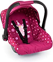 Bayer Design Baby Doll Deluxe Car Seat with Canopy- Polka dots