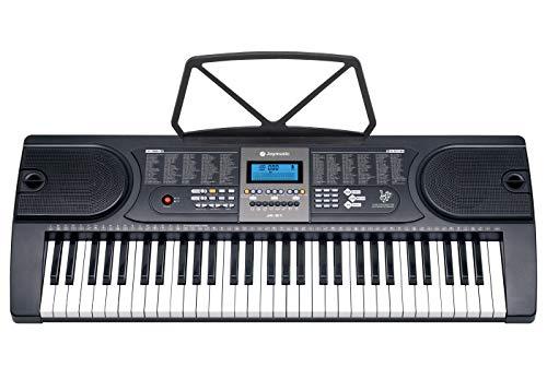 Joymusic Joy 61-Key Electronic Keyboard for Beginners,LCD Screen Display (JK-61)