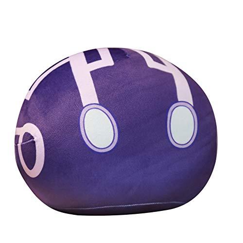 Slime Plüschtier, Genshin Impact Slime Monster Plüsch Toy, Gefüllte Puppe Weiches Kissen Schleim Plüschpuppe Puppe Geburtstagsgeschenk für Spielefans für Kinder Erwachsene