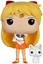 Funko POP Anime: Sailor Moon - Sailor Venus with Artemis Action Figure