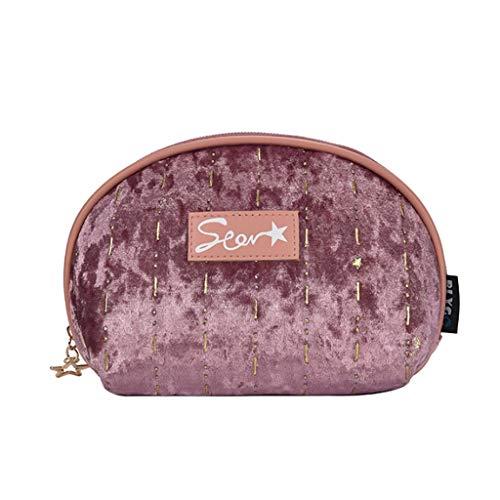 Kiki Sac cosmétique for Le Maquillage Maquillage Up Organisateur cosmétiques Mignon Etuis for Voyage Dames Pouch Femmes Sacs de Rangement (Color : Rose Pink)