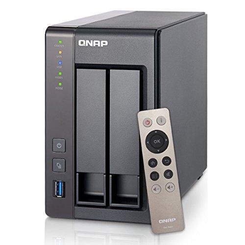 Qnap Systems Ts-251+-2G 2Bay 2.0Ghz 2Gb Ddr3 2X Gbe 2X Usb3.0 2X Usb 2.0