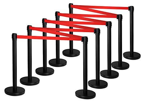 Postes separadores Stagecaptain PLS-200S en plateado (set de 10 piezas)