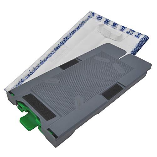 Ersatzplatte geeignet für Ihren Vorwerk Kobold SP520 und 530 Saugwischer Nassreiniger + 1 Reinigngstuch